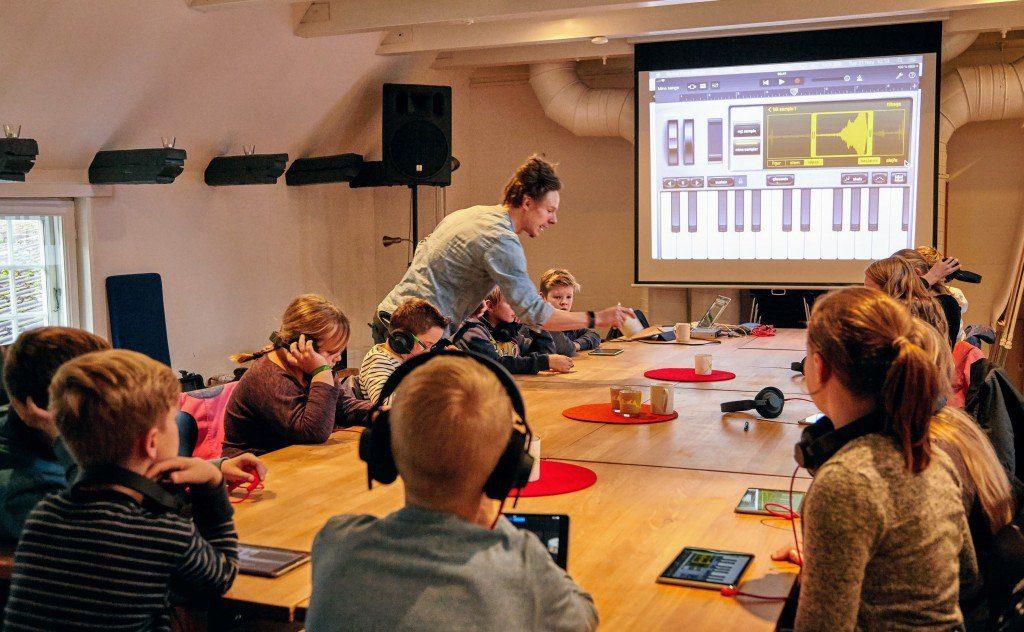 Musikungdomsklubben - musik på computer og iPad