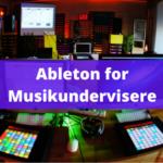 Group logo of Ableton Live for musikundervisere